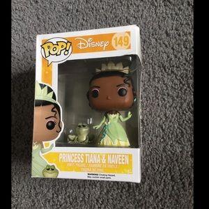Princess Tiana and Naveen pop figure